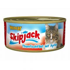 Wildcat - Nassfutter - Skipjack Thunfischfilet mit Apfel (getreidefrei)