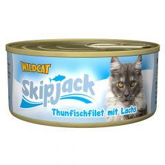 Wildcat - Nassfutter - Skipjack Thunfischfilet mit Lachs (getreidefrei)