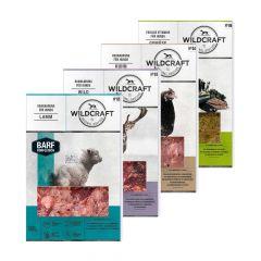 Wildcraft - Hundefutter - BARF Kombipaket Rohfleischmix Wild + Huhn + Lamm á 3 x 500g und Frische Vitamine Gemüse mit Obst 3 x 250g