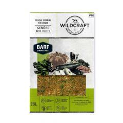 Wildcraft - Hundefutter - BARF Paket Frische Vitamine Gemüse mit Obst 20 x 250g