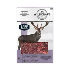 Wildcraft - Hundefutter - BARF Paket Rohfleischmix Wild 10 x 500g