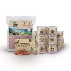 Wildes Land - Katzenfutter - Premiumpaket mit Trockenfutter 1,2kg + 12 x 200g Nassfutter + Snack 70g