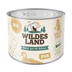 Wildes Land - Nassfutter - Bio Ente PUR (getreidefrei)