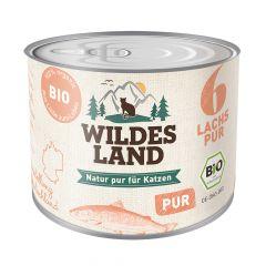 Wildes Land - Nassfutter - Bio Lachs PUR (getreidefrei)