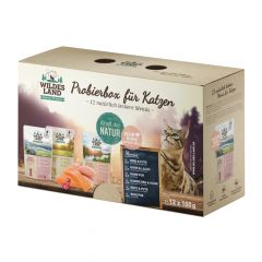 Wildes Land - Nassfutter - Pouch Probierbox (getreidefrei)