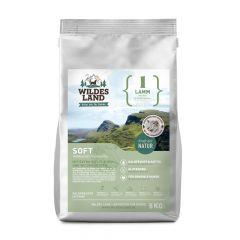 Wildes Land - Trockenfutter - Soft Lamm mit Reis und Wildkräutern 3 x 5kg (glutenfrei)