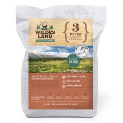 Wildes Land - Trockenfutter - Pferd mit Kartoffeln und Wildkräutern 12kg (getreidefrei)