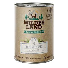 Wildes Land - Nassfutter - Ziege PUR mit Distelöl (getreidefrei)