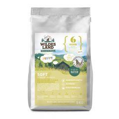 Wildes Land - Trockenfutter - Soft Puppy Huhn mit Reis und Wildkräutern 5kg (glutenfrei)