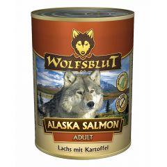 Wolfsblut - Nassfutter - Alaska Salmon 6 x 800g (getreidefrei)