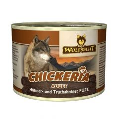Wolfsblut - Nassfutter - Chickeria Adult Hühner- und Truthahnfilet Pure (getreidefrei)
