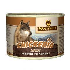 Wolfsblut - Nassfutter -  Chickeria Adult mit Hühnerfilet und Kalbfleisch (getreidefrei)