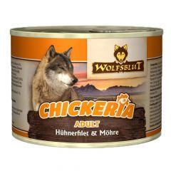 Wolfsblut - Nassfutter - Chickeria Adult mit Hühnerfilet und Möhre (getreidefrei)