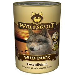 Wolfsblut - Nassfutter - Wild Duck 6 x 800g (getreidefrei)