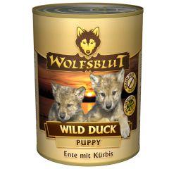 Wolfsblut - Nassfutter - Wild Duck Puppy 6 x 395g (getreidefrei)