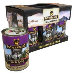 Wolfsblut - Nassfutter - Wild Game Schlemmerbox (getreidefrei)