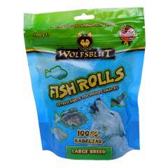 Wolfsblut - Kausnack - Fish Rolls Kabeljau Large Breeds (getreidefrei)