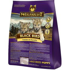 Wolfsblut - Trockenfutter - Black Bird Large Breed Puppy (getreidefrei)