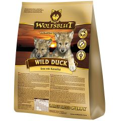 Wolfsblut - Trockenfutter - Wild Duck Large Breed Puppy (getreidefrei)
