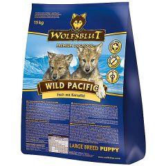 Wolfsblut - Trockenfutter - Wild Pacific Large Breed Puppy (getreidefrei)