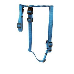 Wolters - Hundegeschirr - Soft & Safe No Escape aqua 50-70cm