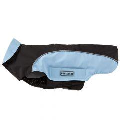 Wolters - Hundebekleidung - Regenjacke Easy Rain schwarz/sky blue