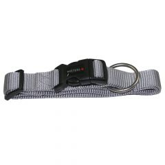 Wolters - Hundehalsband - Professional extra-breit silber