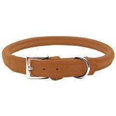 Wolters - Hundehalsband - Terravita Bioleder rund nougat