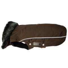 Wolters - Hundebekleidung - Winterjacke Amundsen kastanie 20cm