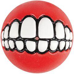 Wolters - Hundespielzeug - ROGZ Grinz-Ball zum Befüllen rot 8cm