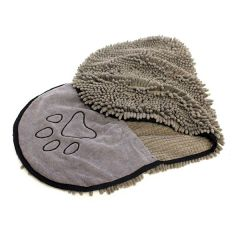 Wolters - Hundezubehör - Mikrofasertuch Dirty Dog Shammy grau