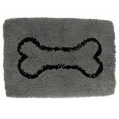 Wolters - Hundezubehör - Dog Gone Smart Dirty Dog Doormat grau 58x40cm