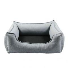 Wolters - Hundebett - Dog Lounge Noble Stripes denim/granit