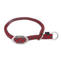 Wolters - Hundehalsband - Schlupfhalsband Everest reflektierend rot/schwarz