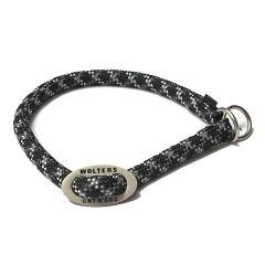 Wolters - Hundehalsband - Schlupfhalsband Everest reflektierend schwarz/graphit