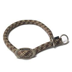 Wolters - Hundehalsband - Schlupfhalsband Everest reflektierend tabac/sand