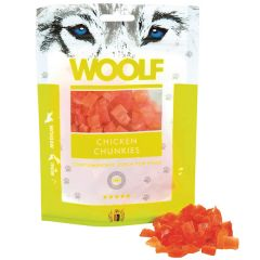 Woolf - Hundesnack - Hühnchen Chunkies (getreidefrei)
