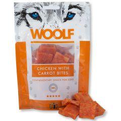 Woolf - Hundesnack - Hühnchenwürfel mit Karotte (getreidefrei)
