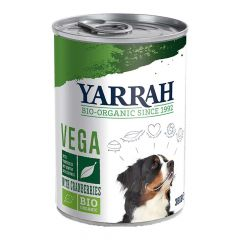 Yarrah - Nassfutter - Bio Bröckchen Vega mit Cranberries (getreidefrei)