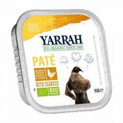 Yarrah - Nassfutter - Bio Paté mit Huhn & Meeresalgen (getreidefrei)