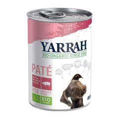 Yarrah - Nassfutter - Bio Paté mit Schwein, Petersilie & Thymian (getreidefrei)