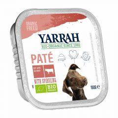 Yarrah - Nassfutter - Bio Paté mit Rind & Spirulina (getreidefrei)
