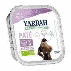 Yarrah - Nassfutter - Bio Paté mit Huhn, Truthahn & Aloe Vera (getreidefrei)
