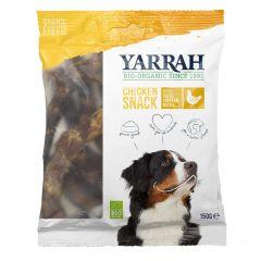 Yarrah - Hundesnack - Bio Hühnerhälse getrocknet (getreidefrei)