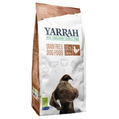 Yarrah - Trockenfutter - Bio Huhn & Fisch Grain Free (getreidefrei)
