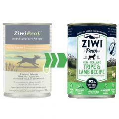 Ziwi Peak - Nassfutter - Canned Dog Food Tripe and Lamb (getreidefrei)
