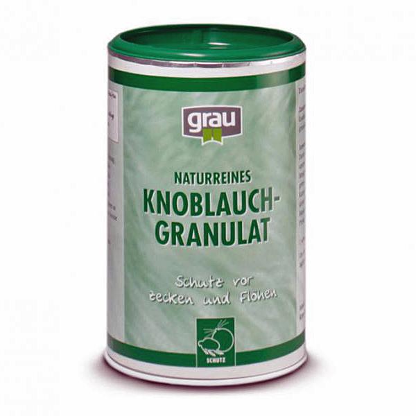 grau - Ergänzungsfutter - Knoblauchgranulat 800g