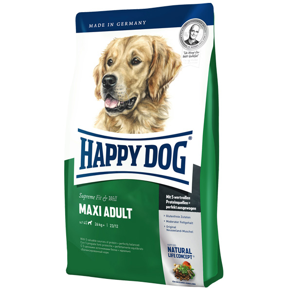 Happy Dog - Trockenfutter - Supreme Fit & Well Maxi Adult 300g