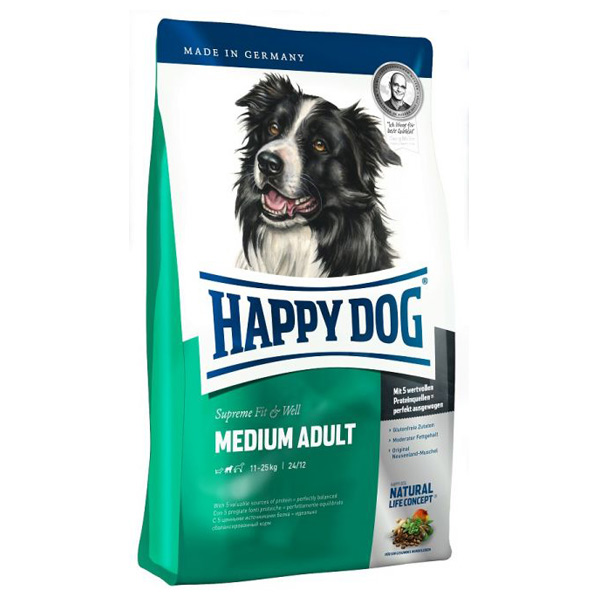Happy Dog - Trockenfutter - Supreme Fit & Well Medium Adult 300g
