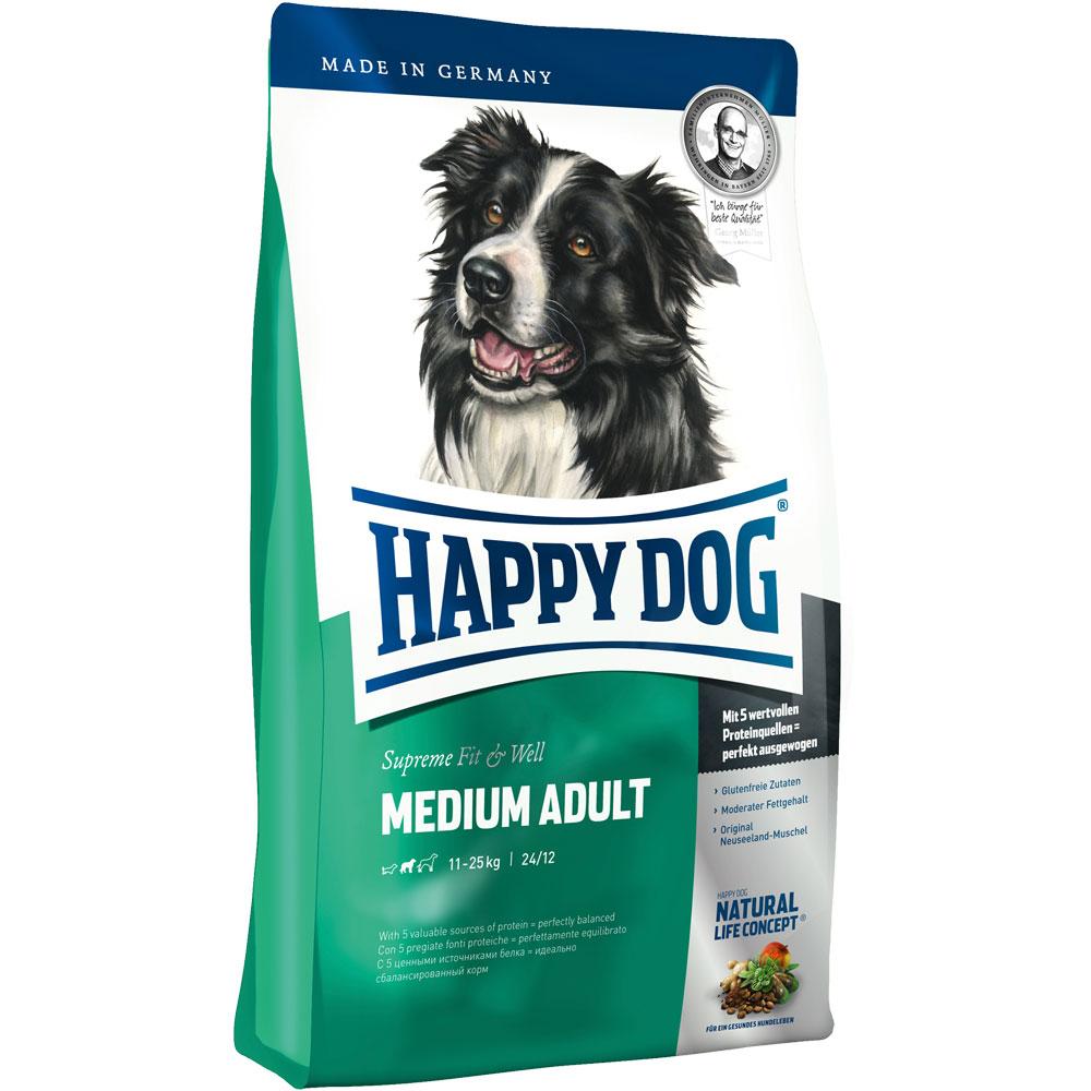4 kg | Supreme Fit & Well Medium Adult  | Happy Dog